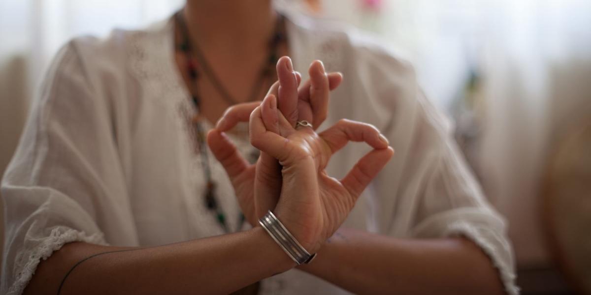 Yoga-Hand